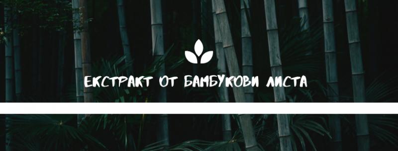 екстракт от бамбукови листа